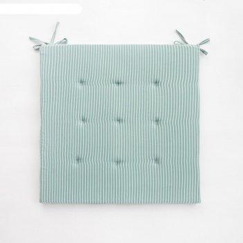 Подушка на стул этель «классика», 40х40 см