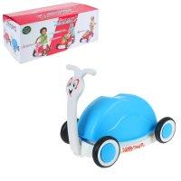 Толокар-корзина для игрушек улитка, цвета микс