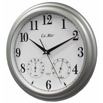 Настенные часы la mer gd115 silver