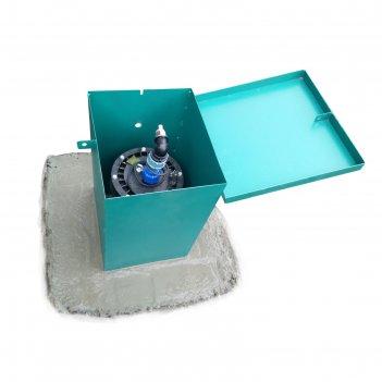 Ящик над скважиной, сталь, толщина 2 мм, окрашенный