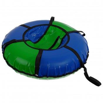 Тюбинг-ватрушка «вихрь», d=90 см, цвета микс