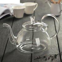 Чайник заварочный 600 мл элегия, диаметр дна 7 см