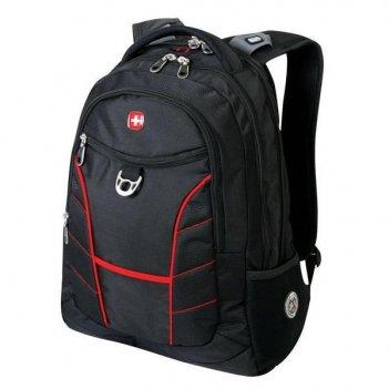 1178215 рюкзак wenger «rad» цв. черно-красный