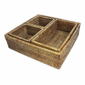 Короб для хранения столовых приборов №3