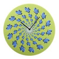Часы настенные интерьерные гипноз. бабочки