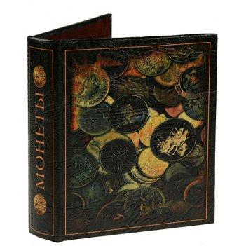 Альбом для монет монеты мира 18*20*4см 10 лист. на 240 монет