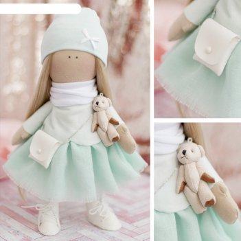 Набор для шитья «мягкая кукла кристи», 18 х 22 х 3,6 см