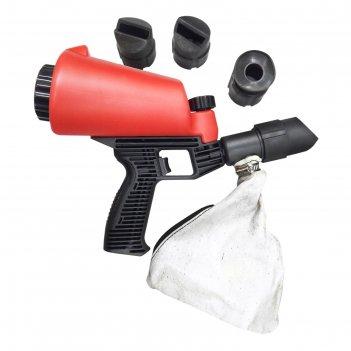 Пескоструйный пистолет forsage f-hsb-i, со встроенной емкостью для песка,