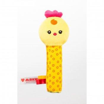 Игрушка на палочке «цыплёнок бро», пищалка