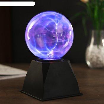 Плазменный шар магический, 22 см
