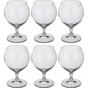 Набор бокалов для коньяка из 6 шт. сесилия 350 м...