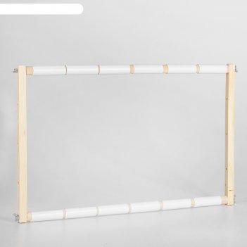 Пяльцы-рамка для вышивания, 40 x 60 см, цвет «светлое дерево»