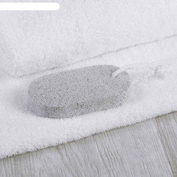 Пемза для педикюра, 9 x 4,5 см, цвет белый
