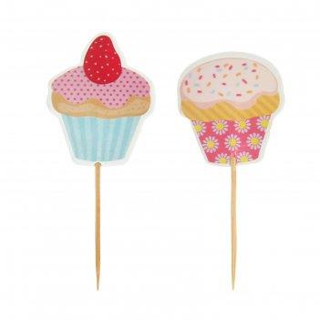 Пика для канапе сладости (набор 24 шт)