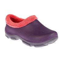 Галоши утепленные женские oyo, эва, цвет фиолетовый, размер 40