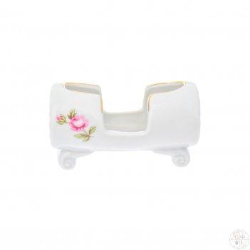 Подставка для зубочисток dubi цветочный мотив 8 см