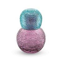 Набор графин (0,7л)+стакан (0,2л), аметист/ бирюза, серия multicolor, ivv,