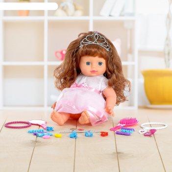 Кукла маша в платье с аксессуарами, микс