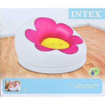 Кресло надувное цветок 102х99х64 см