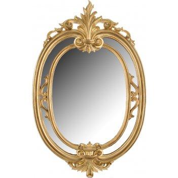 Зеркало высота=60 см ширина=39 см