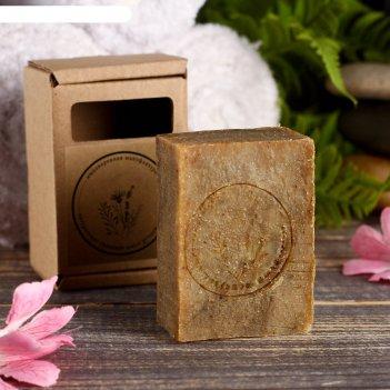Натуральное крафтовое травяное мыло тимьян в коробке, добропаровъ, 100 г