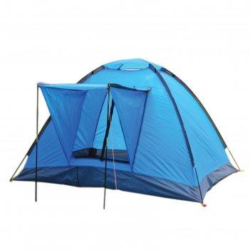 Палатка туристическая wildman™ «колорадо», 3-х местная, однослойная, 210x1