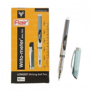 Ручка шариковая flair writo-meter узел 0.5мм, (пишет 10 км) масляная основ