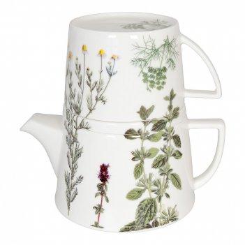 Koenitz набор чайник заварочный + кружка + подставка