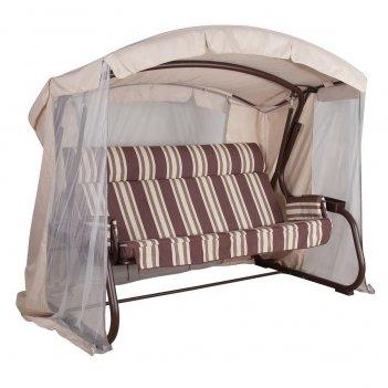 Качели summer suite milan premium chocolate, садовая мебель