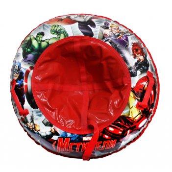 Marvel мстители тюбинг - надувные сани,резин.автокамера, материал глянцевы