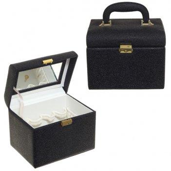 Шкатулка для парфюмерии и косметики  22,2х16,6х17,5см