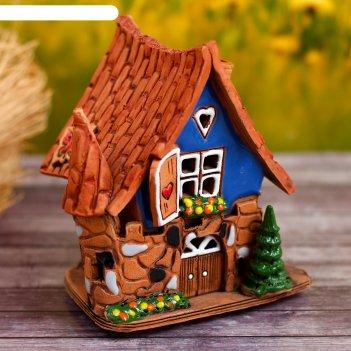 Аромалампа домик «бабочка», ручная работа, микс