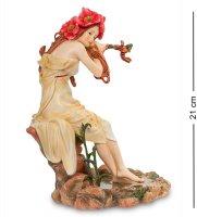 Pr-muc05 статуэтка девушка лето альфонса мухи (museum.parastone)