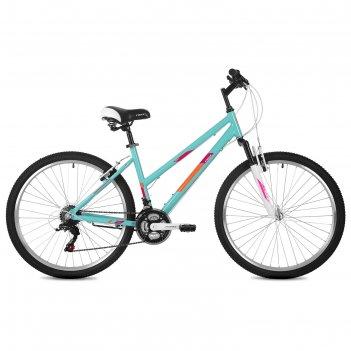 Велосипед 26 foxx bianka, 2020, цвет зелёный, размер 15