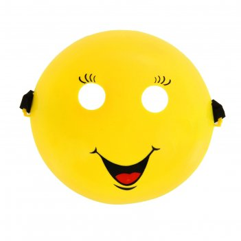 Карнавальная маска смайлик