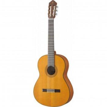 Гитара классическая yamaha cg122mc цвет natural, дека кедр массив, корпус