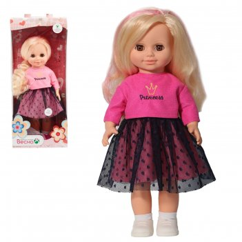 Кукла анна яркий стиль 2  со звуковым устройством 42 см в3715/о
