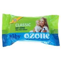 Салфетки влажные ozon детские с экстрактом алоэ 72 шт