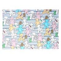 Бумага для творчества цветные медведи а4 плотность 80 гр