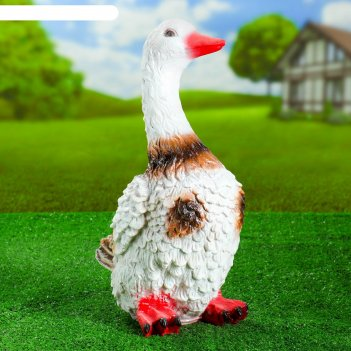 Садовая фигура утка цветная мал. 30*20*46 см f01271