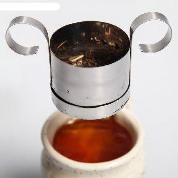 Сито-заварник для чая и кофе, d=6 см