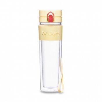 Бутылка для воды с двойными стенками, объем: 500 мл, материал: пластик, си