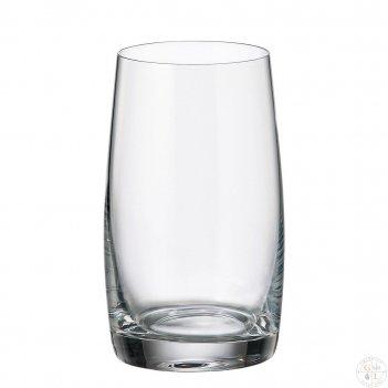 Набор стаканов для воды crystalite bohemia pavo/ideal 380 мл (6 шт)