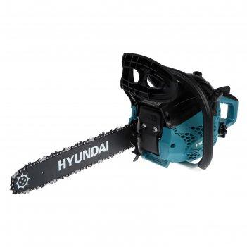 Бензопила hyundai х 3916, 2т, 1.5 квт, 2 л.с., 16, шаг 3/8, паз 1.3 мм, 57