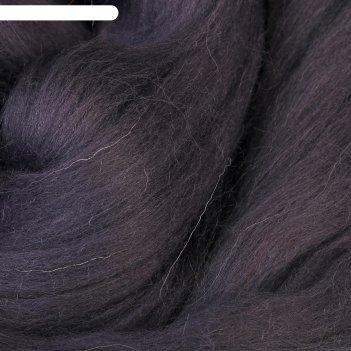Шерсть для валяния 100% полутонкая шерсть 50 гр (137, моренго)