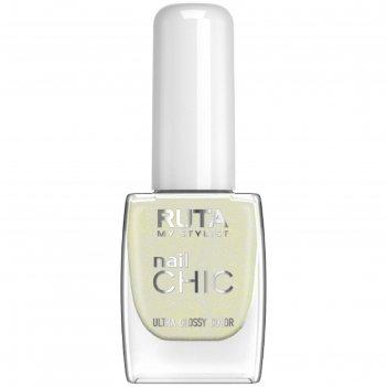 Лак для ногтей ruta nail chic, тон 32, золотая пыль