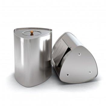 Бак «байкал», выносной, 52 л, g 3/4, нержавеющая сталь 0,8 мм