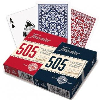 Карты fournier no. 505 - red  blue