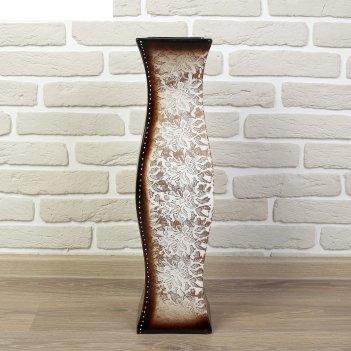 Ваза керамика напольная арника микс