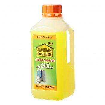 Жидкость для биотуалета универсальная, 1 л, «дачный помощник»